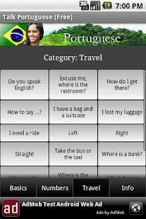 Talk Portuguese Free