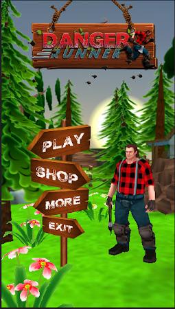 Danger Runner 3D Bear Dash Run 1.5 screenshot 1646788