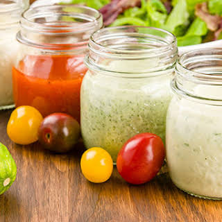Classic Homemade Salad Dressings.