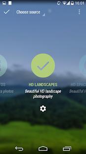 Muzei HD Landscapes Screenshot 2
