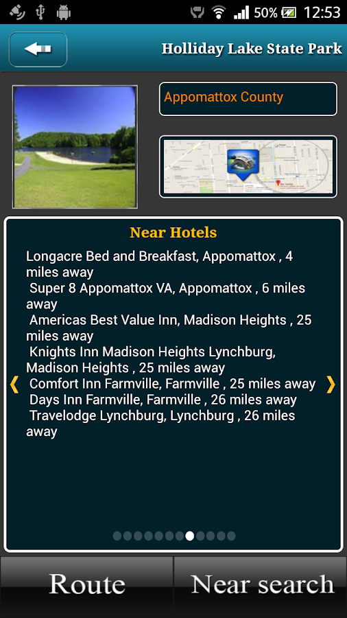 Virginia Campgrounds- screenshot