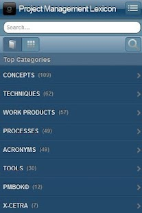 Project Management Lexicon - screenshot thumbnail