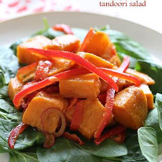 Kumara (Sweet Potato) Tandoori Salad.