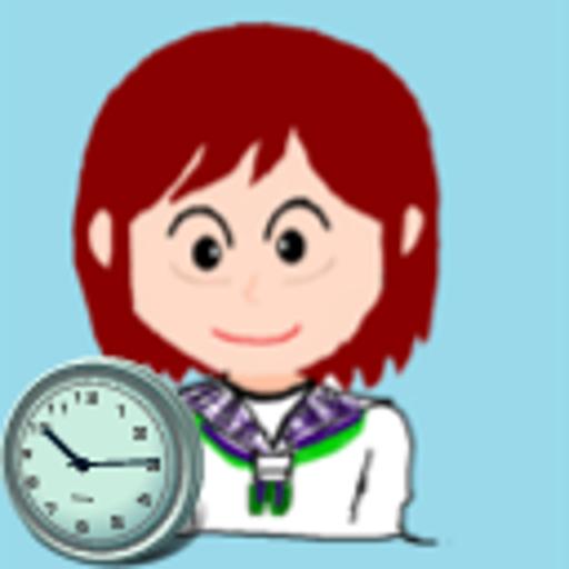 工具のさしこ 時計 (SashikoClock) LOGO-記事Game