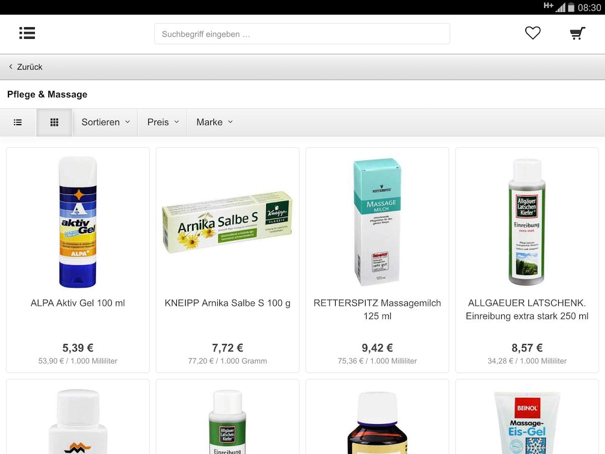 apodrom.de Versandapotheke - screenshot