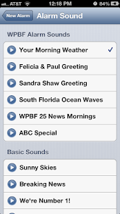 Alarm Clock WPBF 25 News - screenshot thumbnail