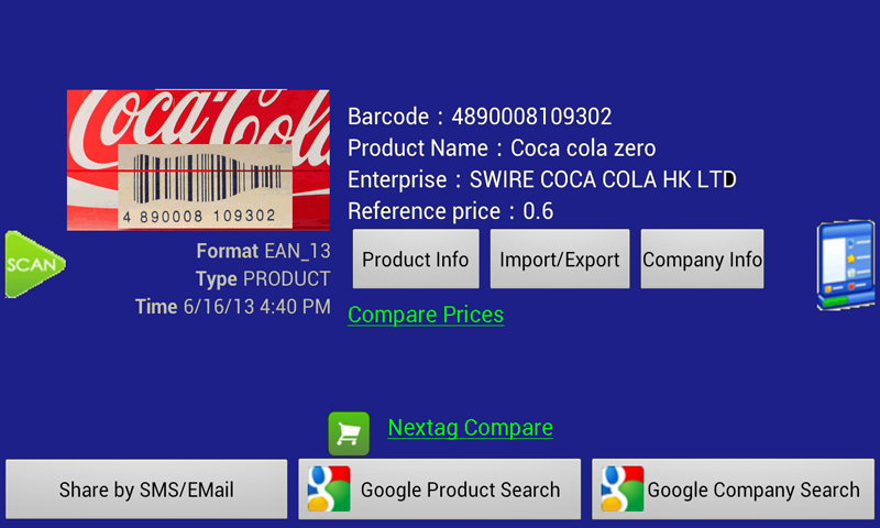 Barcode Helper - screenshot