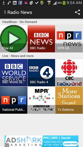 1 Radio News - World Radio