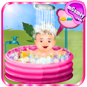 Baby Outdoor Bathing icon