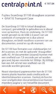 Centralpoint.nl Dagaanbieding! - screenshot thumbnail