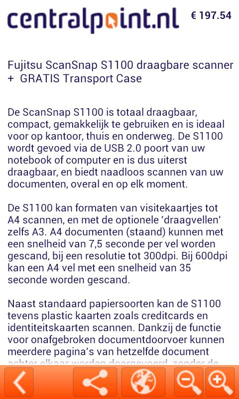 Centralpoint.nl Dagaanbieding! - screenshot