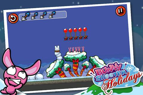 Bunny Shooter Christmas - screenshot