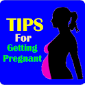 Tips for getting pregnant logo