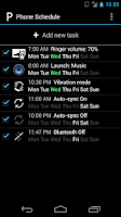 Screenshot of Phone Schedule
