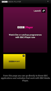 BBC Media Player - screenshot thumbnail