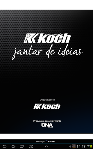 Revista Koch Jantar de Ideias