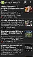 Screenshot of Mundo Android