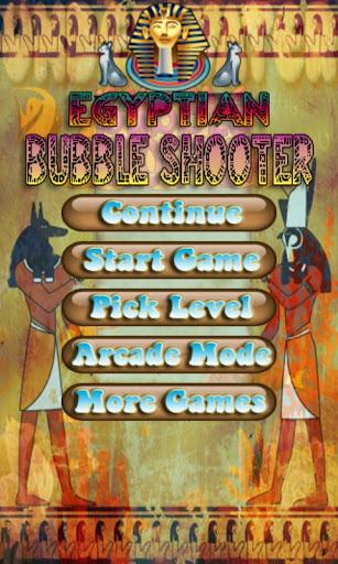 Egyptian Bubble Shooter