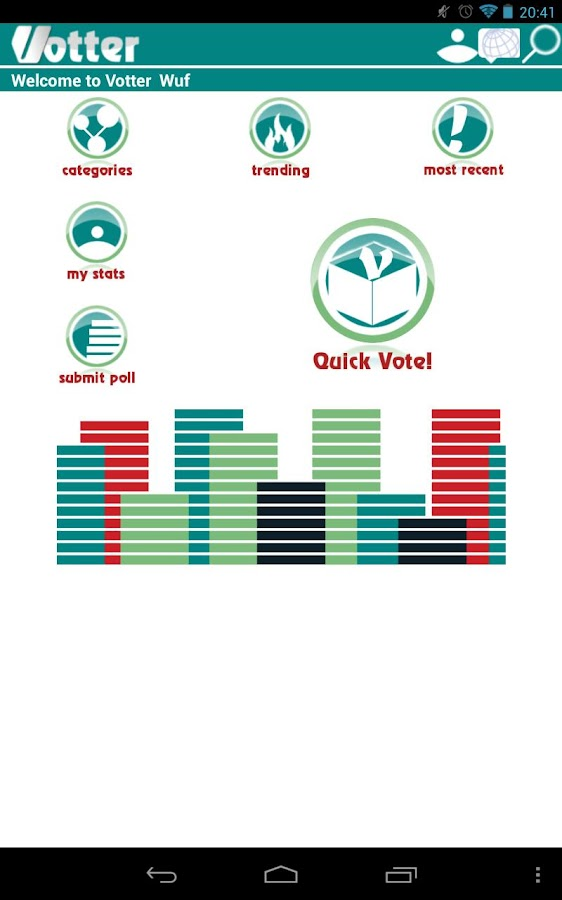 Votter: The Social Voting App - screenshot