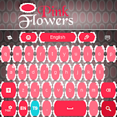 Flowers Pink Keyboard