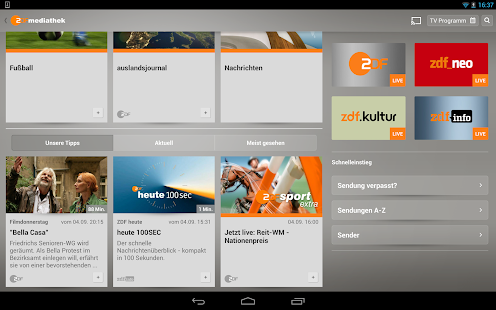 ZDF-App Screenshot 13