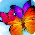 Butterfly HD Live Wallpaper icon