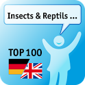 100 Insects, Reptils Keywords icon