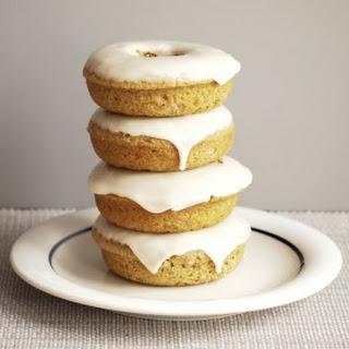 Maple Cinnamon Donuts with Maple Glaze