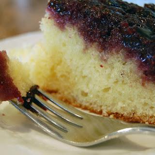 Blueberry Upside Down Cake.