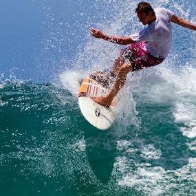 summer surf by Gavin Falck - Sports & Fitness Surfing ( surfing, surfer, waves, summer, sea, ocean, beach )