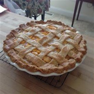 Chef John's Peach Pie