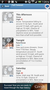 NWService Weather Lite - screenshot thumbnail