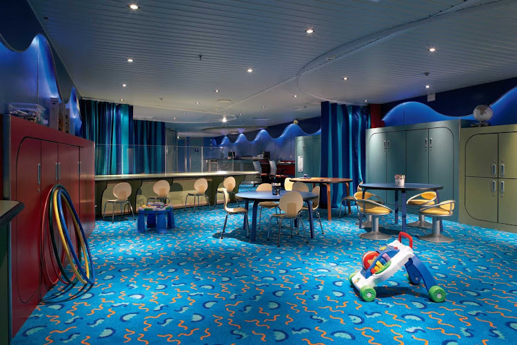 Celebrity Century's Fun Factory keeps the little ones entertained.