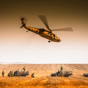 Medevac 2 by Assi Dvilanski - News & Events World Events ( helicopter, israel air force, transportation, israel defence forces, israel, medevac, war, soldier, medical, gaza, soldiers, idf, clashes, iaf )