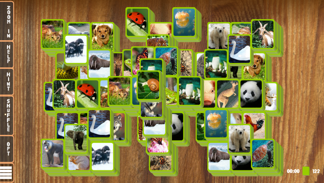 Mahjong Animal Tiles: Solitaire with Fauna Pics- screenshot