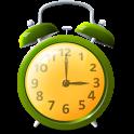 Colorful alarm (Alarm clock) icon