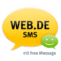 WEB.DE SMS mit Free Message logo