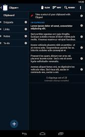 Clipper - Clipboard Manager Screenshot 16