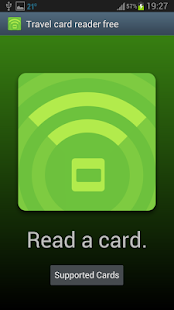 Travel card reader free- screenshot thumbnail