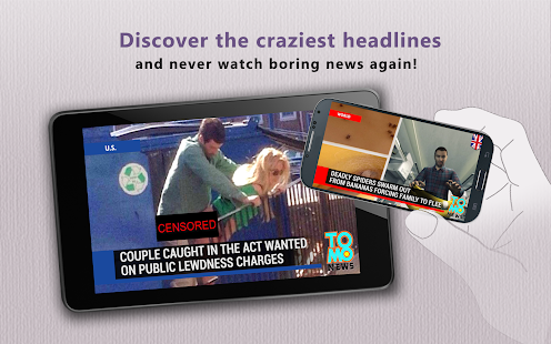 Viral Video News by TomoNews - screenshot thumbnail