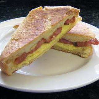 Spicy Sausage, Egg, and Cheese Panini