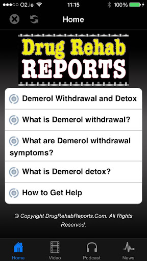 Demerol Withdrawal Detox