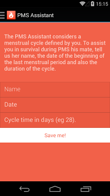 PMS Assistant - screenshot
