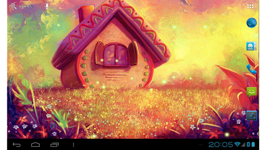 Sweet home colorful day night live wallpaper android for Wallpaper home sweet home