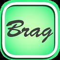自慢や幸せ限定の匿名つぶやきSNS「ブラッガーツ」 icon