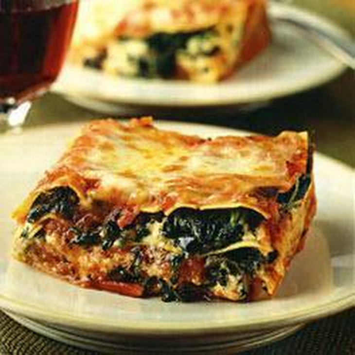 Easy One-Step Spinach Lasagne Recipe