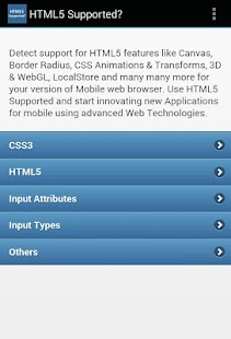 HTML5 Supported? - screenshot thumbnail