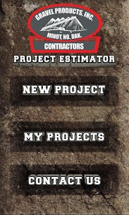 Gravel Products - Project Est.- screenshot thumbnail