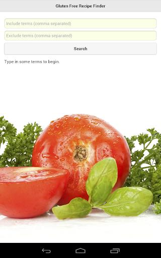 Gluten Free Recipe Finder