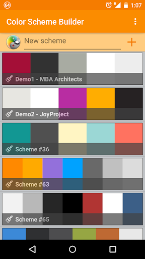 Color Scheme Builder